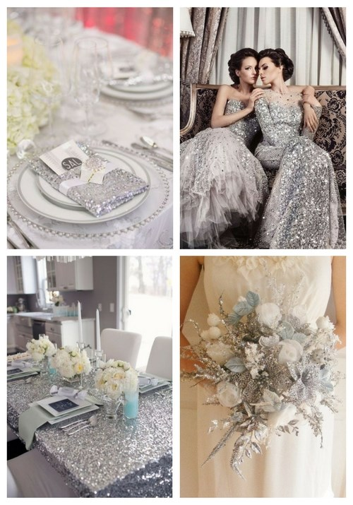 main Silver Winter Wedding Ideas