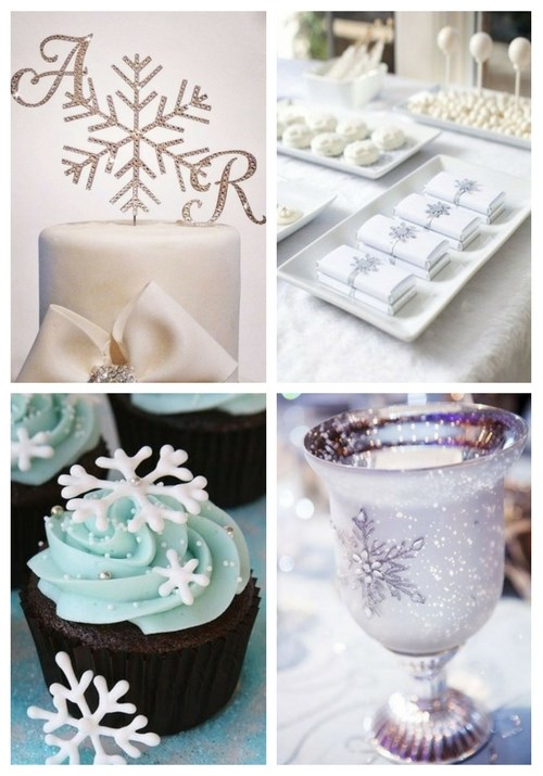 44 Snowflake Ideas For Winter Wedding Decor