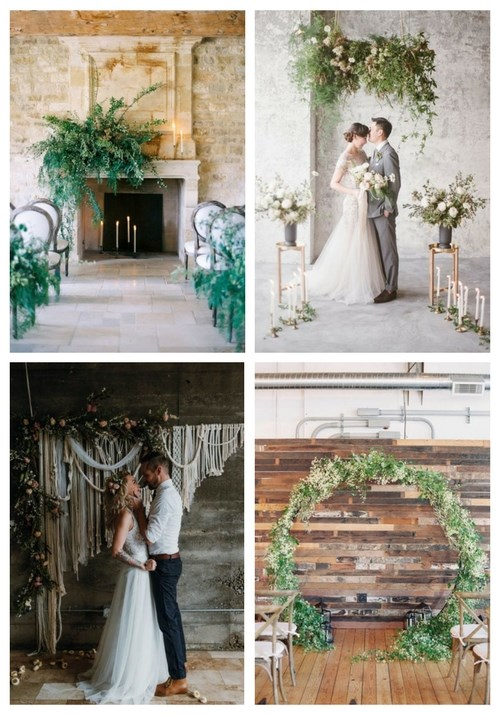 29 Trendy Indoor Wedding Backdrops And Arches