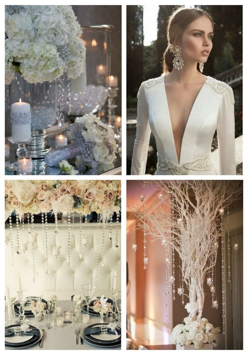 40 Winter Glam Wedding Ideas