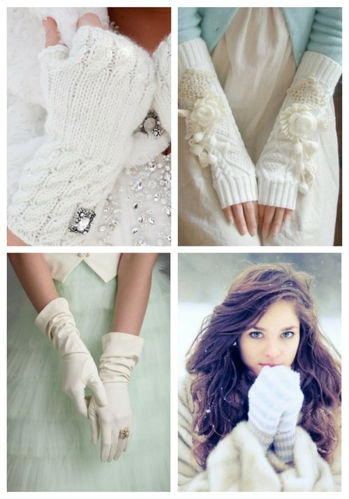 Awesome Winter Wedding Gloves And Mittens To Die For