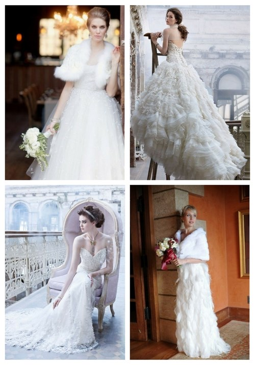 Gorgeous Winter Wedding Dresses You'll Love