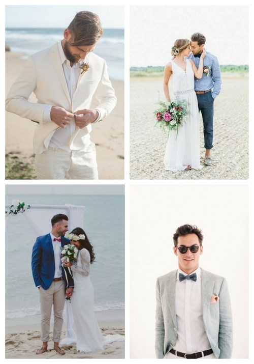 23 Coolest Beach Groom Looks