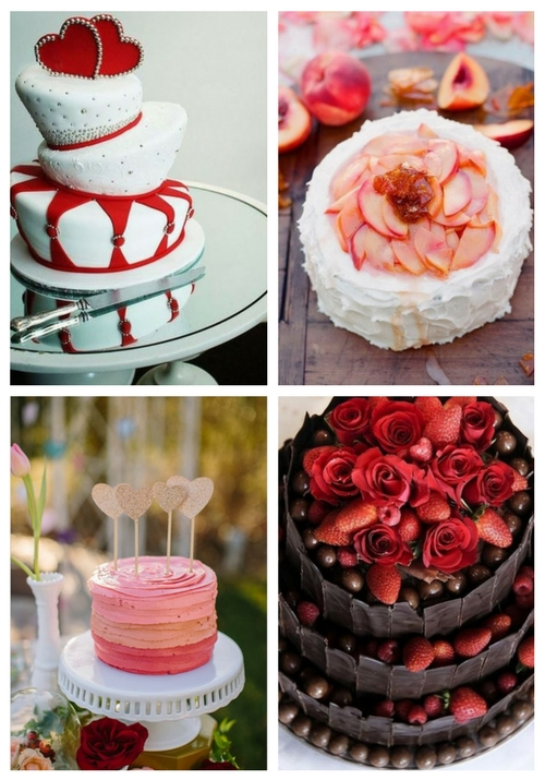 37 Awesome Valentine S Day Wedding Cakes Happywedd Com