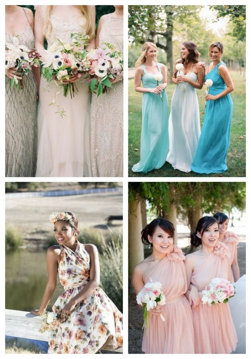 35 Beautiful Spring Bridesmaids' Dresses