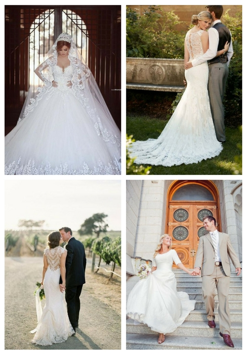 23 Modest Wedding Dresses For Church Weddings
