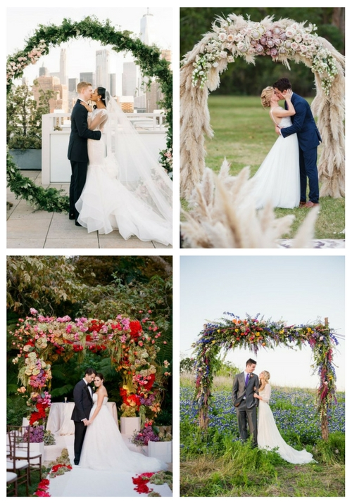 20 Trendy Summer Wedding Arches And Altars