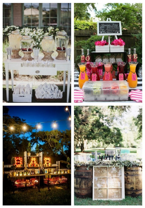 main Wedding Drink Bar And Station Ideas That You'll Love