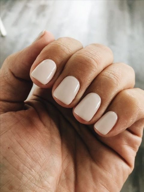 neutral nails are always to the point