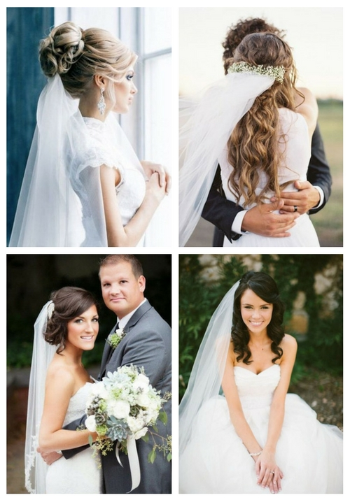 35 Adorable Wedding Hairstyles To Rock With A Veil Happywedd