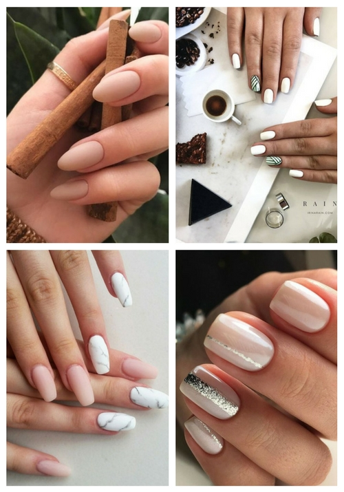 24 Trendy Summer Wedding Nails Ideas | HappyWedd.com