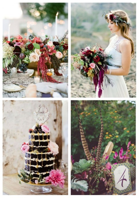 42 Eye-Catchy Boho Chic Fall Wedding Ideas