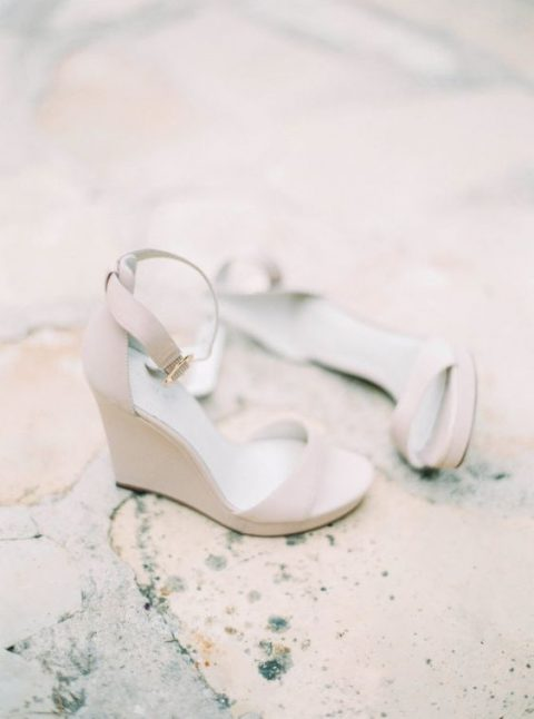 neutral ankle strap wedges are comfy and can be worn afterwards