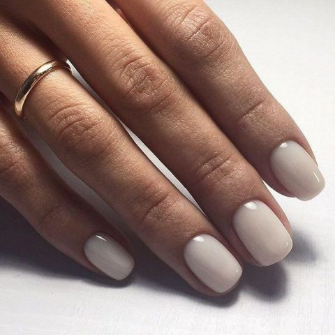 there_s nothing more timeless than simple creamy nails