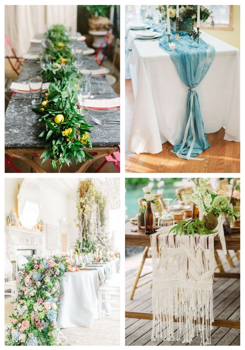28 Summer Wedding Table Runners