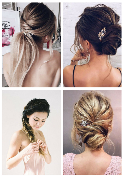 main 25 Chic Rehearsal Dinner Hairstyles
