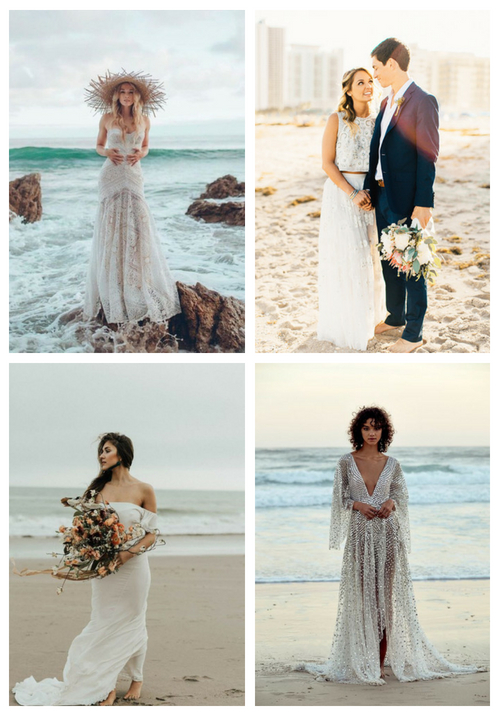 main 26 Beach Wedding Dresses That Wow