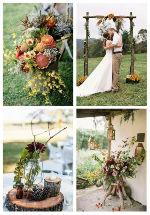 47 Fall Backyard Wedding Ideas That Inspire Happywedd Com