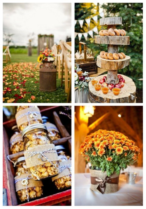 main 75 Rustic Fall Wedding Ideas You'll Love