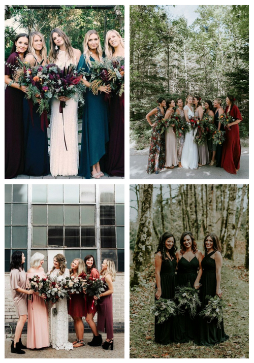 Fall Bridesmaids' Guide: 34 Trendiest Dress Ideas