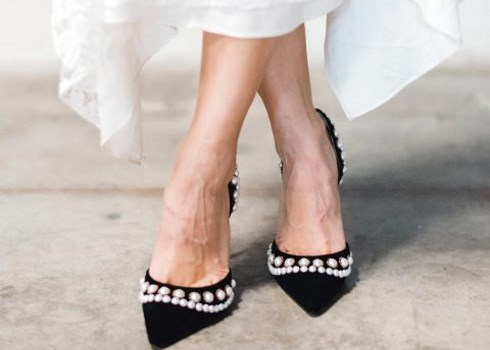 36 Black Wedding Shoes And Boots For A Statement