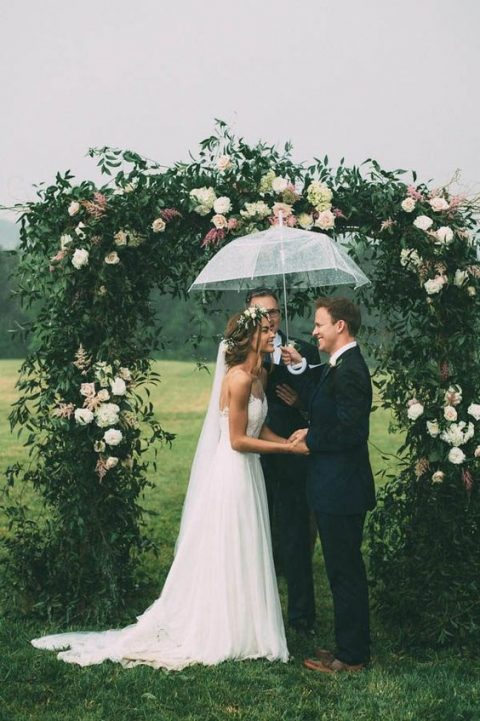 if it_s raining and you are having an outdoor ceremony, don_t worry, grab a cool umbrella