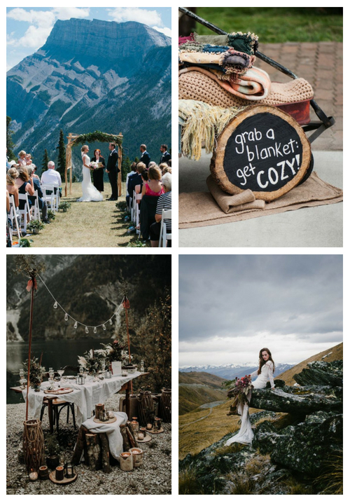 20 Tips And Ideas To Pull Off Mountain Wedding