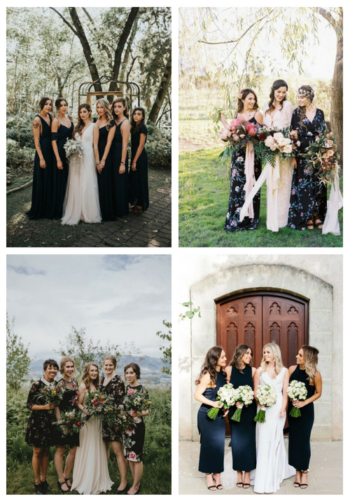 28 Flawless Black Bridesmaid Dresses