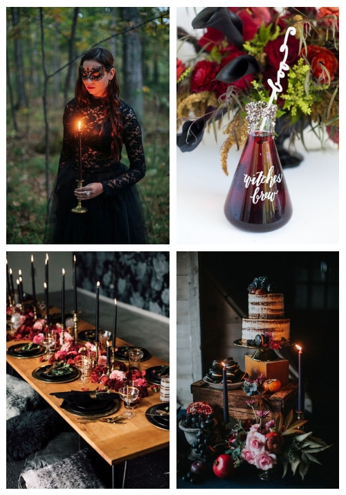 30 Enchanting Halloween Bridal Shower Ideas
