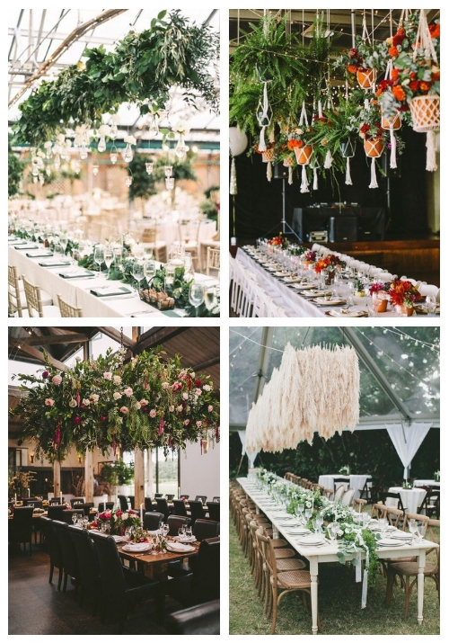 main 30 Overhead Wedding Decorations You'll Love
