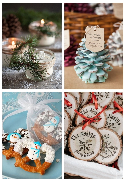 main 20 Amazing Christmas Wedding Favors