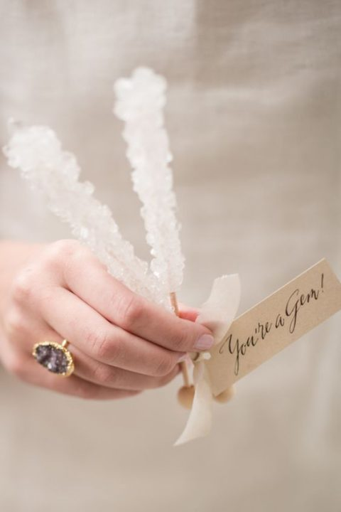 sugar rock candies are great for any wedding and season including Christmas