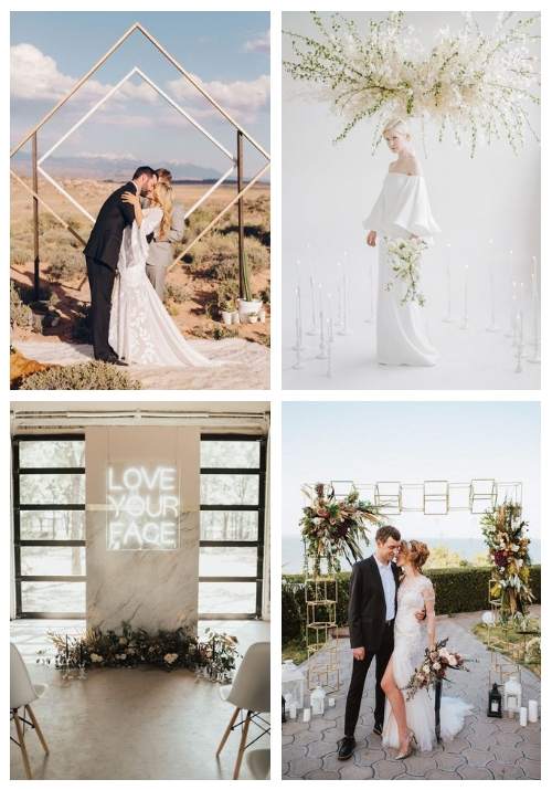 20 Modern Wedding Arches And Altars