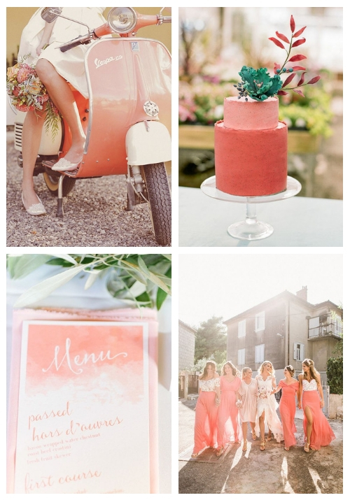 Pantone's 2019 Color: 36 Living Coral Wedding Ideas