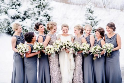 sleeveless sheath silver sequin bridesmaid maxi gowns