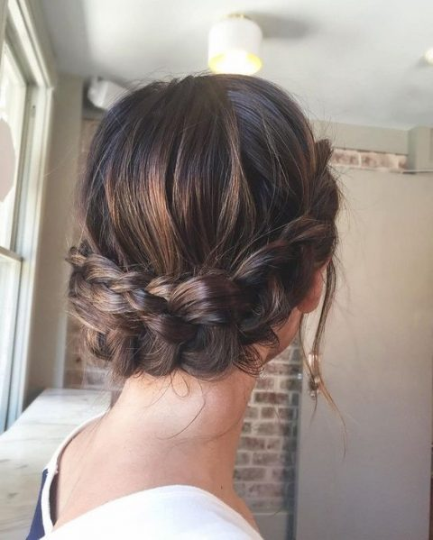 a simple braided low crown