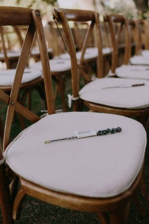wands for every guest instead of sparklers and as wedding favors