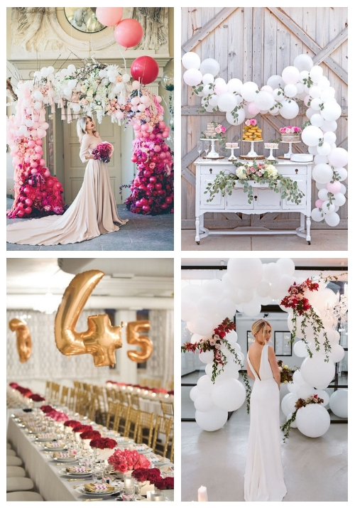 main 21 Whimsy And Fun Balloon Wedding Decor Ideas