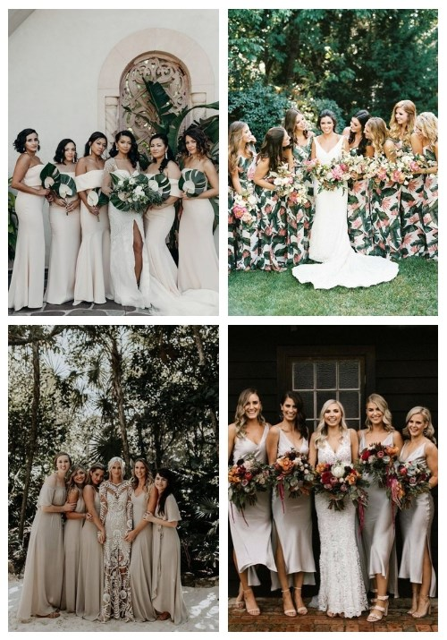 main 22 Chic Tropical Bridesmaid Dresses To Steal