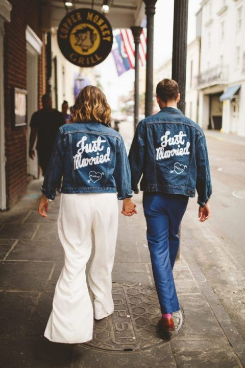 wear a customized denim jacket to get that cool couple_s look that you_ll remember for years