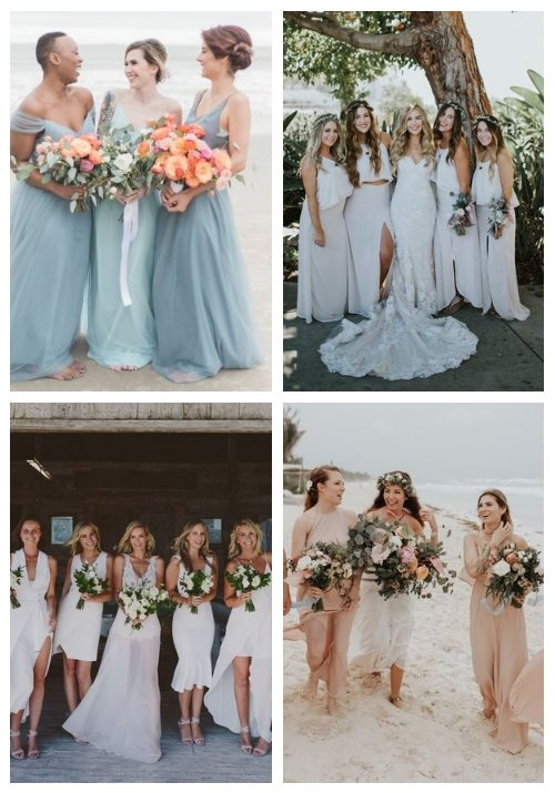 30 Chic Beach Bridesmaid Dresses