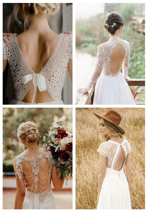 30 wedding dresses with beautiful backs cover