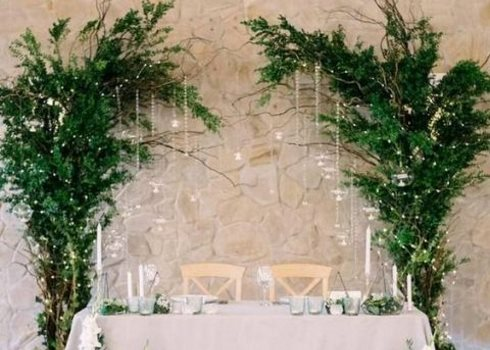 42 Edgy Greenery Wedding Decor Ideas