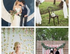42 Photo Booth Backdrops For Your Wedding
