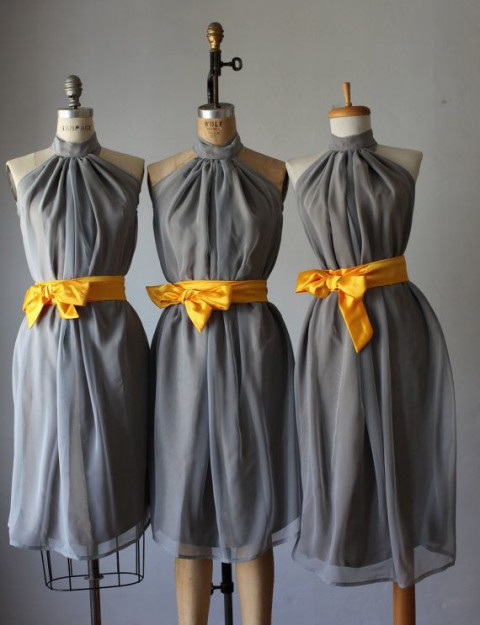 3fdbc6ee76ac 70 Grey And Yellow Wedding Ideas For Spring And Summer Weddings ...