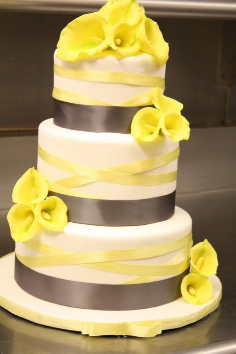 yellow and gray wedding cakes 70 grey and yellow wedding ideas for and summer 27686
