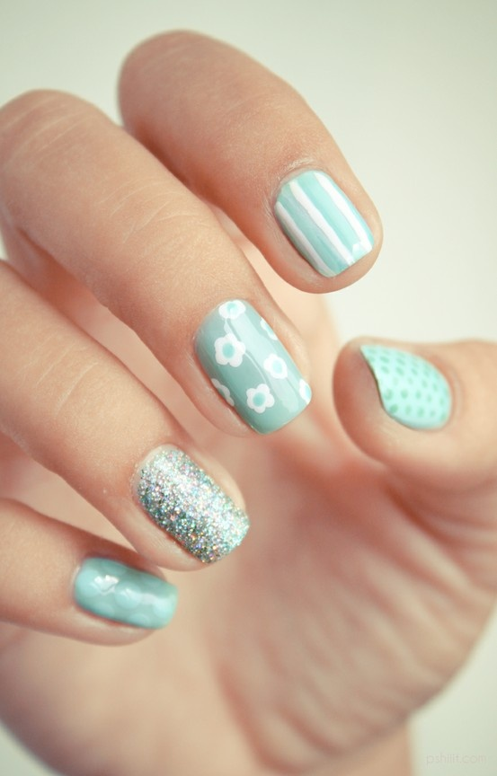56 Awesome Spring Wedding Nails Ideas