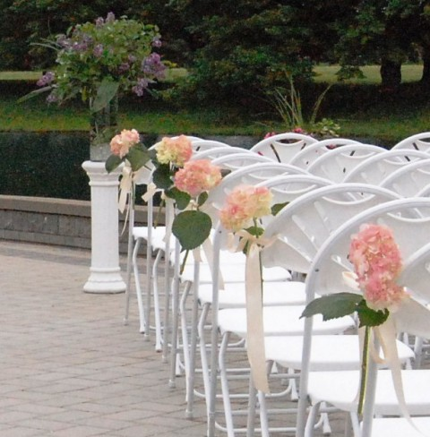 wedding chairs decoration 74 wedding chair decor ideas with floral swags and posies 8953