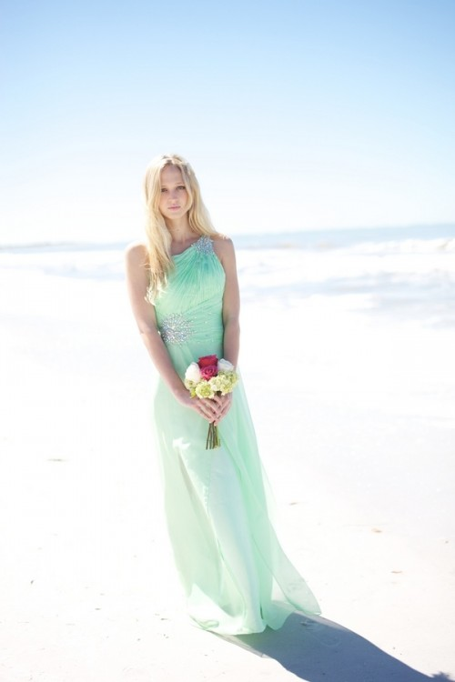 53 Cool Beach Bridesmaids' Dresses