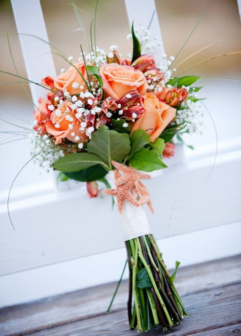 beach wedding bouquet 47 traditional and unconventional wedding bouquets 1561